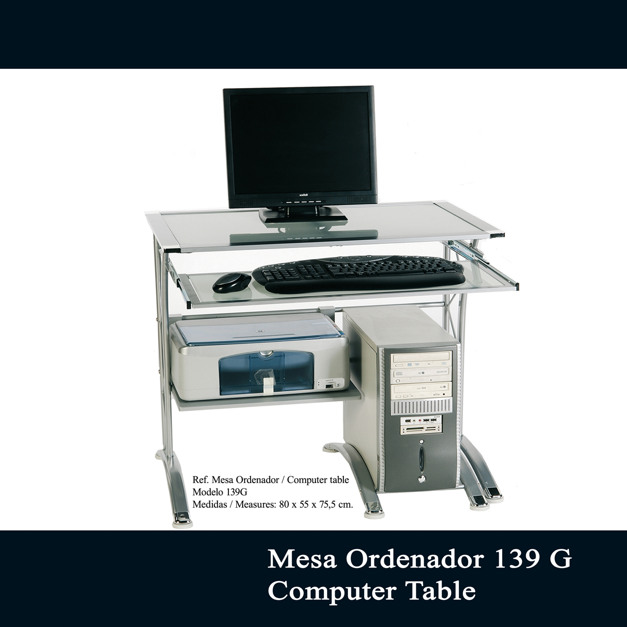 Mesa escritorio de cristal ikea escritorio cristal ikea for Escritorio rinconera ikea